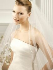 Pronovias Cathedral Veil-V2732- Natural- #V6