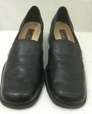 WESTIES  - SIZE 6.5M -  LEATHER, LOAFER - (BLACK)