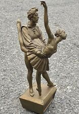 Amazing Original Bronze Sculpture By Bruno Lucchesi. Two Ballet Dancers. Signed.