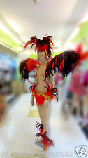 Da NeeNa C073 Samba Parade Drag Rio Dancer Headdress Men Costume Set XS-XL