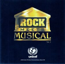 ROCK MEETS MUSICAL VOL. 1 - KATHRIN KAY & PETER GRIMBERG / CD - NEU