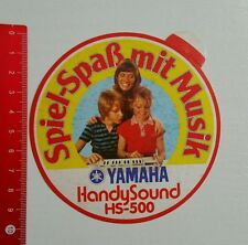 Aufkleber/Sticker: Yamaha Handy Sound HS 500 (15061697)