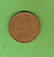SCARCE 1969 AUSTRALIAN CIRCULATED 2 CENT COIN