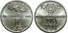 HUNGARY 200 FORINT 1975 KM#604  SILVER 0.640