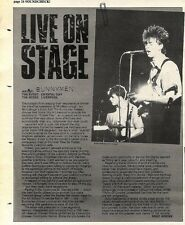 Scheck8P24 Live On stage Article & Picture : Echo & The bunnymen crystal day liv