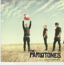 (EB502) The Parlotones, Giant Mistake - 2009 DJ CD