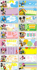 24 MICKEY MOUSE Personalised Name Sticker,Label,Tag
