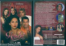 Rubi (2005) Box 4 DVD NUOVO Barbara Mori, Eduardo Santamarina, Jacqueline Bracam