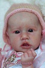 *Saskia* Reborn doll kit by Bonnie Brown ~w/ Body & COA!
