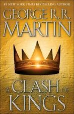 George RR Martin A Clash of Kings, A Game of Thrones 2 HC, Book Club Edition, NF