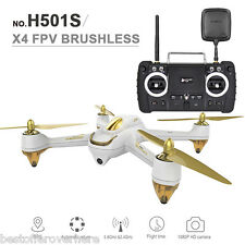 Hubsan H501S X4 1080P 5.8G FPV 2.4GHz 10CH 6 Axis Gyro Brushless RC Quadcopter