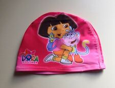 Dora The Explorer Kids Swimming Hat Girls Swim Cap UK SELLER Hygiene Cap NEW
