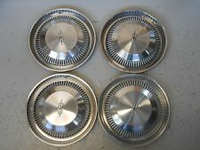 """Set of 4-1971 Oldsmobile F85 14"""" Hubcaps/Wheel Covers #4025"""