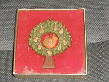 Twirl-Abouts 1976 Partridge in a Pear Tree Hallmark Ornament Tree Trimmer Collec