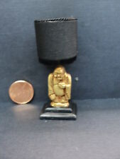 DOLLHOUSE BROOKE TUCKER LAMP/ BLACK WITH GOLD BUDDHA