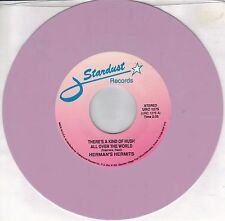 HERMAN'S HERMITS  There's A Kind Of Hush All Over The World  colored vinyl 45