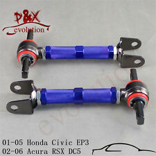 2pcs Rear Camber Control Arm for 01-05 Honda Civic EM EP3/02-06 Acura RSX DC5 BL