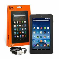 Amazon Kindle Fire 7 inch IPS 8 GB Black Front & Rear Camera - New 2015 Model