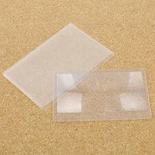 5X Portable Mini Card 3X Magnifier Magnification Magnifying Sheet Fresnel Lens