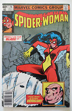 Spider-Woman #26 (May 1980, Marvel) (C5522) 1st Appearance of Grinder