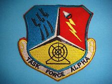 VIETNAM WAR CL PATCH US AIR FORCE TASK FORCE ALPHA PROJECT IGLOO WHITE HCM TRAIL