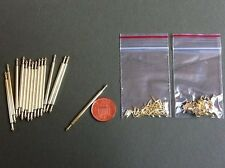 Stair Rods,( set of 15 rods & 30 brackets ) Dolls House Miniatures 1.12th Scale