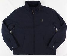 Polo Ralph Lauren Jacket Men's Windbreaker Winter Coat Hooded Perry Lined Fleece