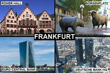 SOUVENIR FRIDGE MAGNET of FRANKFURT GERMANY