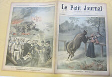 Le petit journal 1898 398 Guerre hispano americaine Guantanamo Spain America war