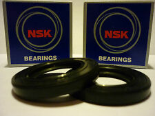 SUZUKI GSXR 600 750 SRAD OEM SPEC NSK FRONT WHEEL BEARINGS & SEAL KIT