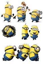 DESPICABLE ME MINION  8x10 sheet iron on transfer for light fabric