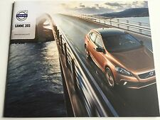 NEW Catalogue brochure Katalog VOLVO GAMME Année 2013 24 pages