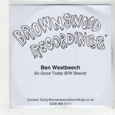 (FS858) Ben Westbeech, So Good Today - DJ CD
