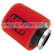 "Uni Air Filter Clamp On Pod 1-3/4"" (45mm) ID x  4"" Long Dual Stage Angled Flange"