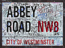 ABBEY ROAD STREET SIGN (MP0002) VINTAGE STYLE METAL PLAQUE