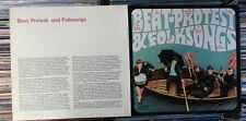 BEAT PROTEST & FOLKSONGS  CLUB EDITION 2LP: SHEPHEARDS CLIMBERS FOLKERS LORDS