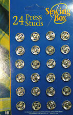 Press Studs / Snap fasteners 14mm Wide (24)