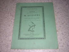 1890.notice sur Questel / Henri Delaborde.beaux-arts.architecture
