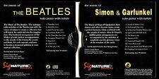 The Music of the Beatles(piano) & Simon & Garfunkel(guitar) - 2 CD Set