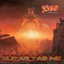 Ronnie James Dio Guitar Tab THE LAST IN LINE Lessons on Disc