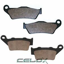 Front Rear Brake Pads For KTM SX-F450 SXF450 2007 2008