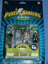 POWER RANGERS MICRO ZEO ZORD IV POLLY POCKET TYPE BOXED 100%