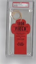1956 World Series Don Larsen Perfect GM Ticket pass psa Mantle HR#7/8