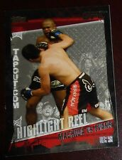 Lyoto Machida Rashad Evans UFC 98 2010 Topps Highlight Reel Card #187 Title Shot