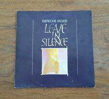 Depeche Mode Leave In Silence - MUTE Records 1982 45 RPM LP