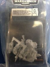 ▲ WARHAMMER 40000 WH 40k 43-40 CHAOS SPACE MARINE LORD OOP CONDOTTIERO CAOS