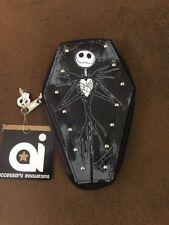 Disney Nightmare Before Christmas Jack Skellington Coffin Purse Wallet Skeleton