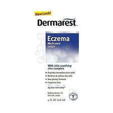 Dermarest Eczema Medicated Lotion, Itch Relief Hydrocortisone 1% - 4 oz