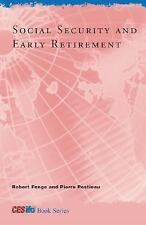 Social Security and Early Retirement (CESifo Book Series)-ExLibrary