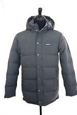 Patagonia Gray Bivy Down Parka Jacket, Size Medium